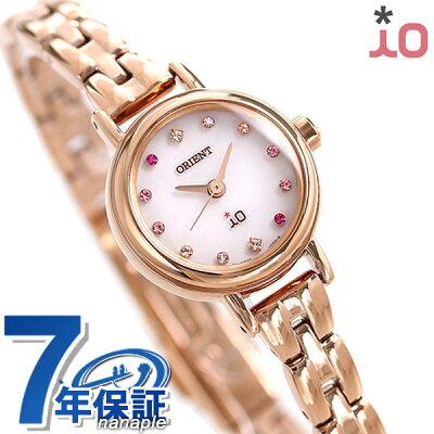 オリエント 腕時計 レディース ORIENT イオ フラワー ソーラー WI0411WD ピンク × ピンクゴールド 時計【あす楽対応】
