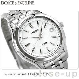 ドルチェ&エクセリーヌ セイコー ドルチェ 電波ソーラー メンズ SADZ123 SEIKO DOLCE&EXCELINE 腕時計 シルバー 時計