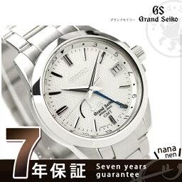 セイコー グランド セイコー 腕時計(メンズ) SBGE009 グランド セイコー スプリングドライブ 腕時計 GMT GRAND SEIKO ホワイト