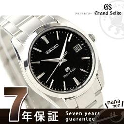 セイコー グランドセイコー 腕時計(レディース) SBGX061 グランド セイコー クオーツ 腕時計 ブラック GRAND SEIKO