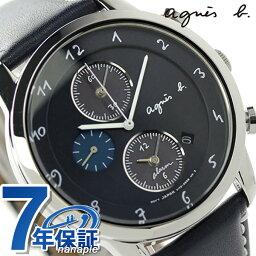 アニエス 腕時計 アニエスベー マルチェロ ソーラー ソーラー クロノグラフ FBRD972 agnes b. メンズ 腕時計 ネイビー【あす楽対応】