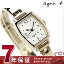 アニエスベー 腕時計(レディース) アニエスベー クオーツ レディース 腕時計 FBSK953 agnes b. シルバー×ゴールド