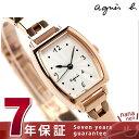 アニエスベー 腕時計(レディース) アニエスベー クオーツ レディース 腕時計 FBSK954 agnes b. シルバー×ピンクゴールド