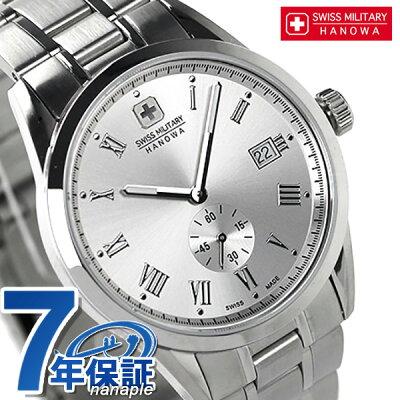 【20日なら全品5倍以上!店内ポイント最大46倍】 スイスミリタリー SWISS MILITARY メンズ ローマン スモールセコンド ML-345 腕時計 時計