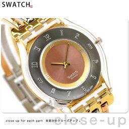 スキン スウォッチ SWATCH 腕時計 スイス製 スキン レディース SFK240A【あす楽対応】