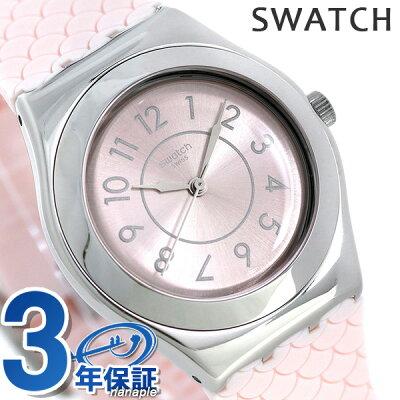 【店内ポイント最大43倍 26日1時59分まで】 スウォッチ SWATCH 腕時計 スイス製 アイロニー ミディアム 33mm YLZ101 時計【あす楽対応】