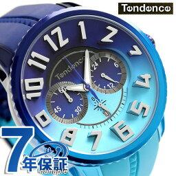 テンデンス テンデンス ガリバー ディカラー 限定モデル 51mm 腕時計 TY146101 TENDENCE ブルー 時計【あす楽対応】