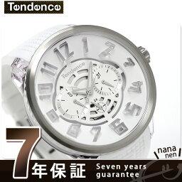 テンデンス テンデンス フラッシュ LEDバックライト クオーツ 腕時計 TY561002 TENDENCE ホワイト 時計