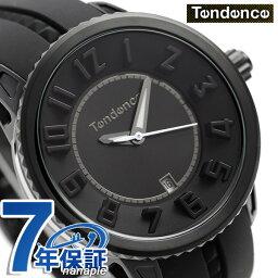 テンデンス テンデンス ガリバー ミディアム 41mm ユニセックス TY931003 TENDENCE 腕時計 オールブラック 時計
