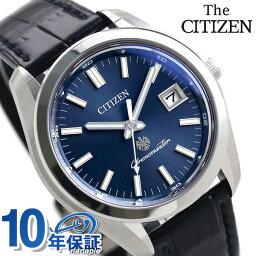 シチズン ザ シチズン 腕時計(メンズ) 【5日なら全品5倍でポイント最大27倍】 ザ・シチズン エコドライブ 限定モデル メンズ 腕時計 ブルー イーグル AQ4050-02L THE CITIZEN ソーラー 時計【あす楽対応】