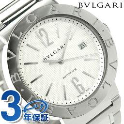 ブルガリブルガリ 腕時計(メンズ) 【5日なら全品5倍でポイント最大27倍】 ブルガリ 時計 メンズ BVLGARI ブルガリ42mm 腕時計 BB42WSSDAUTO