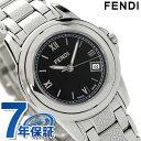 フェンディ フェンディ ラウンド ループ レディース 腕時計 F225210 FENDI クオーツ ブラック 新品【あす楽対応】
