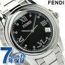 フェンディ フェンディ ラウンド ループ ミディアムサイズ 腕時計 F235310 FENDI クオーツ ブラック 新品