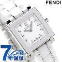 フェンディ フェンディ クアドロ セラミック レディース 腕時計 F622240 FENDI クオーツ ホワイト 新品