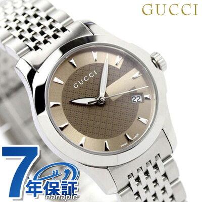 グッチ 時計 レディース GUCCI 腕時計 Gタイムレス ブラウン YA126503【あす楽対応】