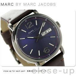 マークジェイコブス 腕時計(メンズ) マーク バイ マーク ジェイコブス ファーガス MBM5078 MARC by MARC JACOBS メンズ 腕時計 クオーツ パープル×ブラウン レザーベルト