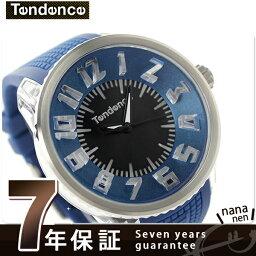 テンデンス テンデンス フラッシュ LEDバックライト TG530002 TENDENCE 腕時計 クオーツ ブラック×ブルー 時計