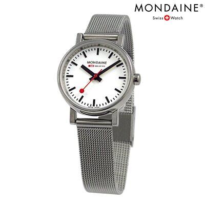MONDAINE モンディーン 腕時計 Evo エヴォ レディース メッシュホワイト A658.30301.11SBV 時計