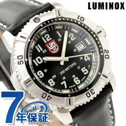 ルミノックス ルミノックス LUMINOX ネイビー シールズ カラーマークシリーズ 腕時計 レディース レザーベルト ブラック 7251
