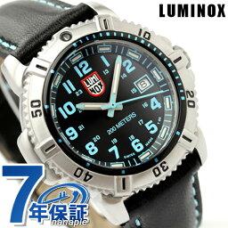 ルミノックス ルミノックス LUMINOX ネイビー シールズ カラーマークシリーズ 腕時計 レディース レザーベルト ブラック×ブルー 7253