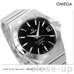 オメガ コンステレーション 腕時計(メンズ) オメガ 腕時計 自動巻き コンステレーション クロノメーター 38MM メンズ ブラック OMEGA 123.10.38.21.01.001 新品 時計【あす楽対応】