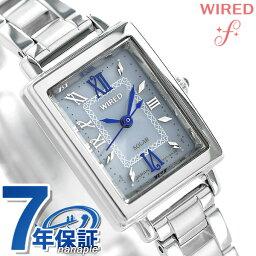 セイコー ワイアード 腕時計(レディース) セイコー ワイアード エフ SEIKO WIRED f ソーラー レディース 腕時計 AGED101 ブルー 時計【あす楽対応】