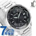 シチズン クロス シー(XC) 腕時計(メンズ) シチズン クロスシー CITIZEN xC エコドライブ 電波時計 メンズ 腕時計 CB1020-54E 電波ソーラー ブラック 黒