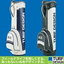 朝日ゴルフ 【即納】 朝日ゴルフ用品 TURF DESIGN(ターフ・デザイン) クラシックキャディバッグ 9型(2.8kg) TDCB-1671