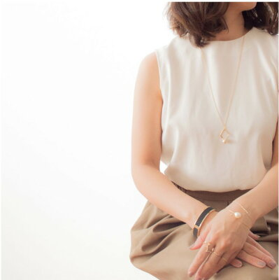 naotjewelry Cottonpearl Long Necklace レディース コットンパール ネックレス nn030