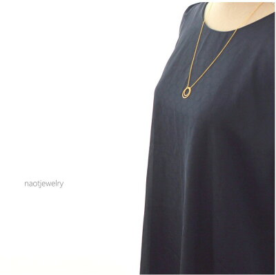 naotjewelry Double strand of circle Necklace レディース ネックレス ゴールド