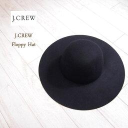 ジェイクルー SPECIAL PRICE♪【SALE】【J.CREW】 ジェイクルー フロッピーハット/BLACK 【あす楽対応】
