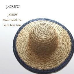 ジェイクルー SPECIAL PRICE♪【SALE】ジェイクルー レディース つば広 ペーパー ストローハット/ナチュラルJ.CREW Straw Hat