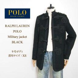ラルフローレン ラルフローレン ポロ レディース ナポレオンジャケット デザイン コート/ブラックPOLO by Ralph Lauren