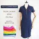 ラルフローレン 【SALE】ラルフローレン レディース 半袖 5ボタン ポロワンピースRalph Lauren Solid Polo Shirts Dresses