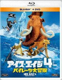 アイス・エイジ DVD アイス・エイジ4 パイレーツ大冒険 ブルーレイ&DVD [廉価版][Blu-ray] / アニメ