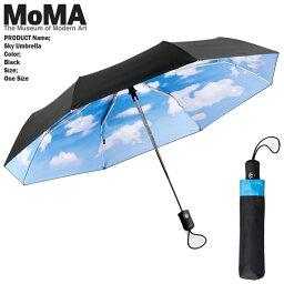 モマ [送料無料]モマ 青空 折りたたみ傘 MoMA Sky Umbrella M70031 ティボールカルマン 傘 誕生日プレゼント ラッピング ds-Ya