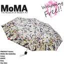 モマ [送料無料]モマ 折りたたみ傘 MoMA White lite Umbrella M108054 ジャクソンポロック 白光 傘 誕生日プレゼント ラッピング ds-Ya