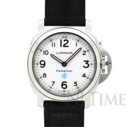 ルミノール 腕時計(メンズ) パネライ ルミノールベース ロゴ アッチャイオ PANERAI LUMINOR BASE LOGO ACCIAIO/PAM00630【新品】【メンズ】