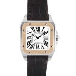 カルティエ サントス 腕時計(メンズ) 【クーポンで最大3万円オフ!!】カルティエ サントス100 MM CARTIER SANTOS100 MM/W20107X7【新品】【メンズ】