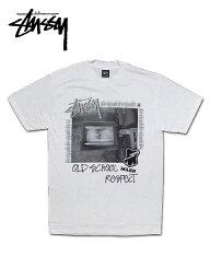 """ステューシー 【送料無料】【あす楽対応】【楽ギフ_包装】【メンズ Tシャツ・ホワイト】Stussyステューシー【M】【Stussy x MASH S.F. LCD Tee】""""ステューシー×MASH S.F. コラボTシャツ"""""""