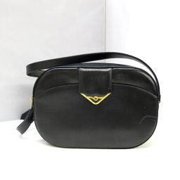 ショルダーバッグ カルティエ バッグ Cartier ショルダーバッグ サファイアライン ブラック 黒 レディース ゴールド金具 レザー 革 かばん 鞄 百舌鳥店 802652【USED】