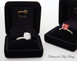 フロイド Diamond Key Ring /ダイヤモンド キーリングFloyd フロイド クリアー/レッドキーホルダー サングラスホルダー ダイヤモンド【あす楽対応_東海】