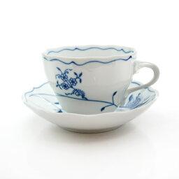 カールスバード 【送料無料祭】カールスバード ブルーオニオン (Carlsbad Blue Onion) ECO コーヒーカップ&ソーサー 210cc