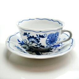 カールスバード 【送料無料祭】カールスバード ブルーオニオン (Carlsbad Blue Onion) ティーカップ&ソーサー 200ml