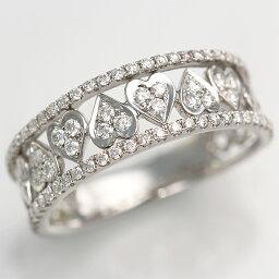 ブランド結婚指輪(マリッジリング) 【輝き保証!】K18WGダイヤモンド【スイートテン】リング[0.5ct] 《ダイヤ:カラーF-G / クラリティVS / カットVG》*結婚指輪(マリッジリング)としても人気です!*【スイート10】【KARP】【プレゼント ギフト】