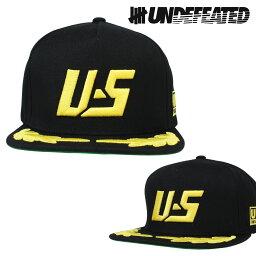 アンディフィーテッド アンディフィーテッド UNDEFEATED キャップ スナップバック 帽子 PODIUM CAP メンズ