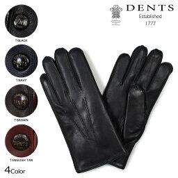 デンツ 手袋(メンズ) DENTS 手袋 メンズ レザー デンツ グローブ LEATHER GLOVES LND FUR 15-1590 [172]