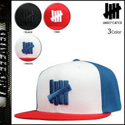 アンディフィーテッド アンディフィーテッド UNDEFEATED スナップバック キャップ SNAPBACK 帽子 3カラー 5 STRIKE SU14 CAP メンズ