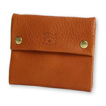 【イルビゾンテ IL BISONTE 財布】二つボタンスクエアコインケース[商品番号_5452404141]【送料無料】【あす楽対応】【財布 コインケース】