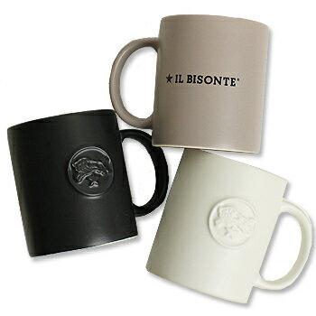 【イルビゾンテ IL BISONTE カップ&ボトル】ロゴマグカップ[商品番号_54172304498]【あす楽対応】